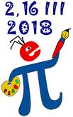 Logotyp Święta liczby Pi 2018